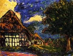 Häuser auf Fehmarn 1908