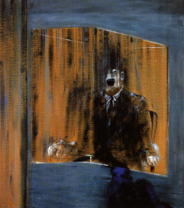 Study for Portrait Man in a Blue Box 1949